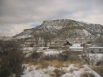 View from the train in Colorado
