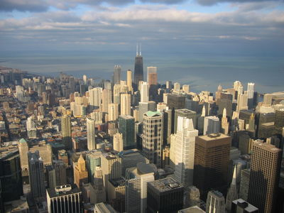 Chicago seen from the Sears Tower