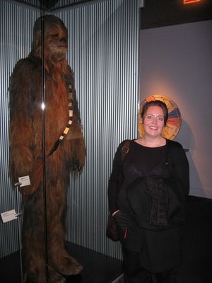 Vic meets Chewbacca