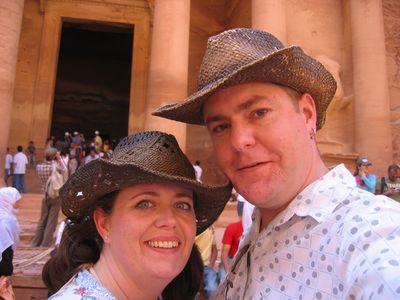 Vic and Nigel at Petra