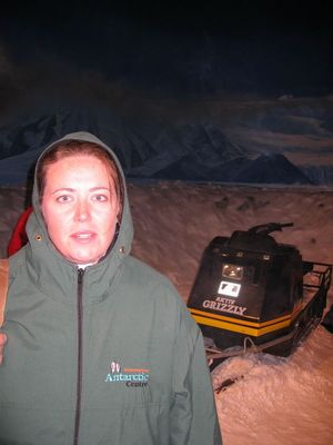 Vic in the Antarctic Storm Room