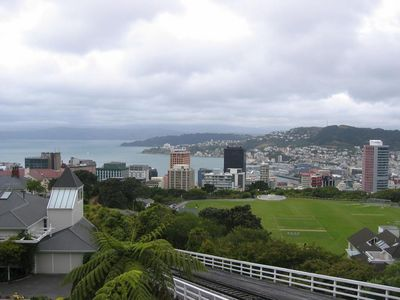 Wellington from cable car